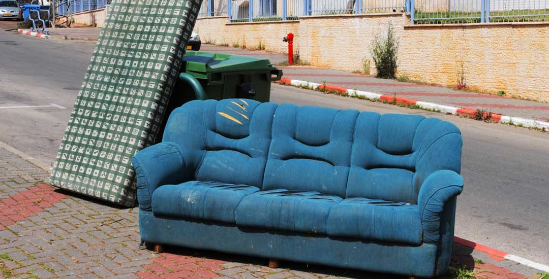 How bed bugs spread: Second hand furniture